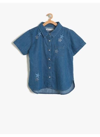 Koton Kids Gömlek İndigo